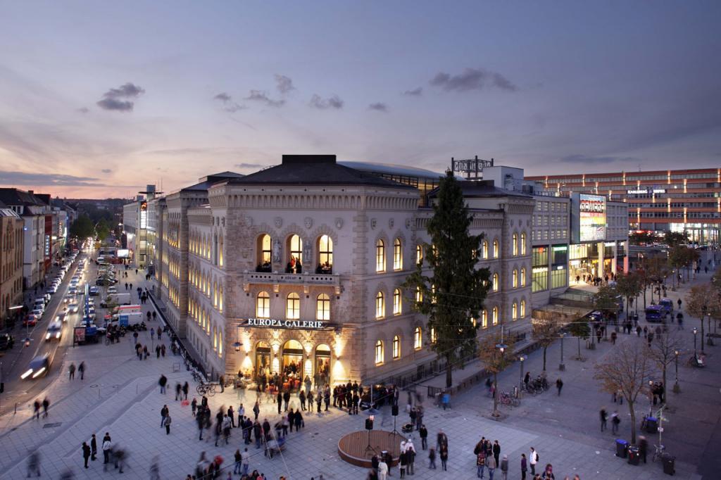 Europa Galerie Shopping Mall In Saarbr 252 Cken Die